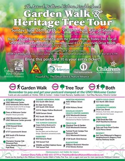 Garden Walk & Heritage Tree Tour
