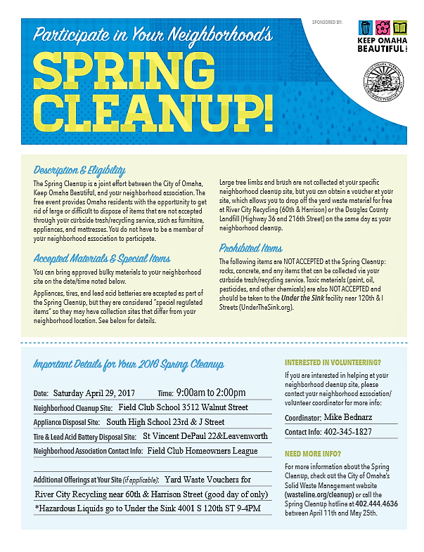 2017 Spring Cleanup English