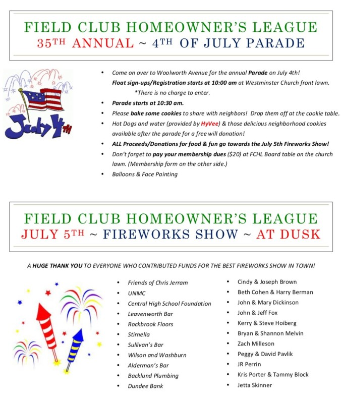 4th of July Flyer 2017